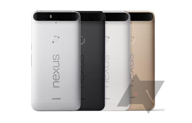 Nexus 6P Farben