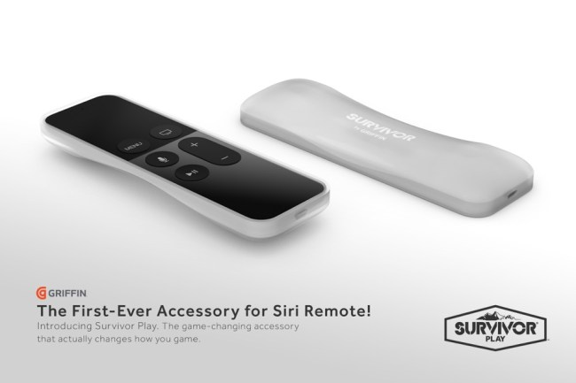 Siri Remote griffin