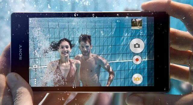 Xperia Z1 unter Wasser