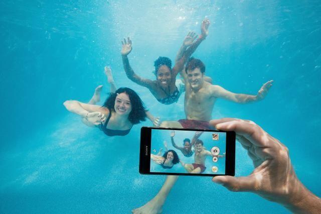 Xperia-Z3-unterwasser