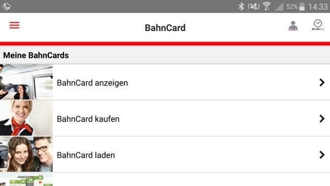 bahncard db navigator