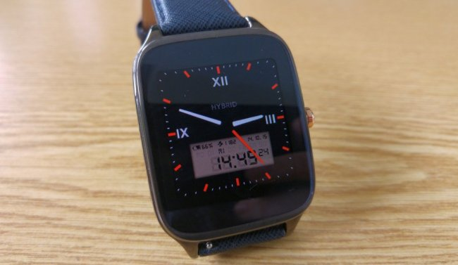 Hybrid Watchface Android Wear
