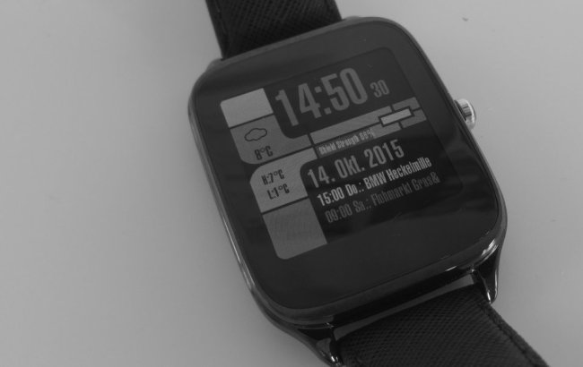 LCARS Watchface Android Wear