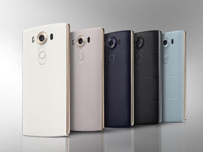 LG V10 Back