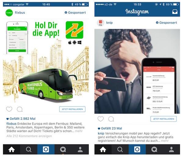 nstagram Werbung 2