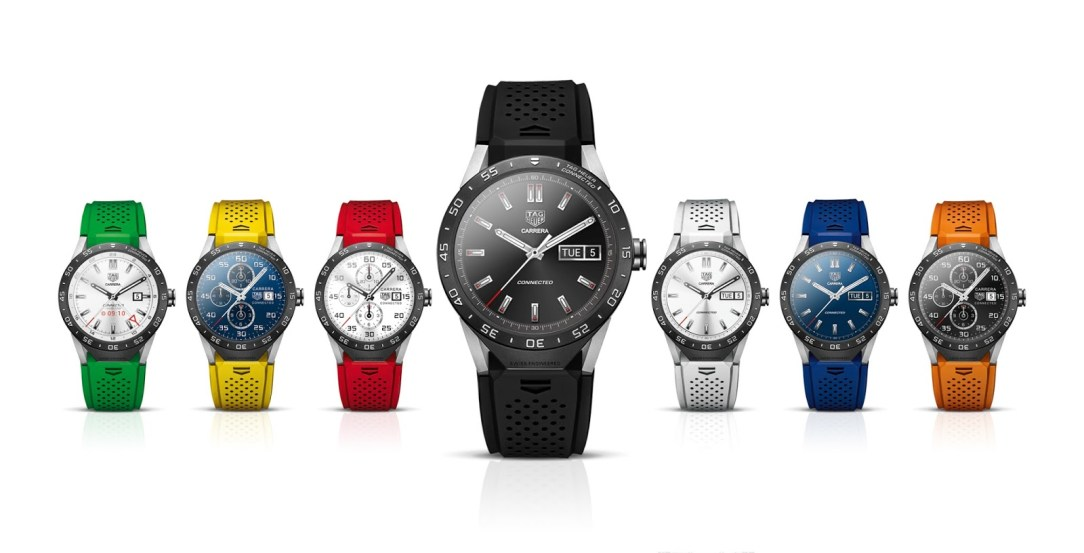 TAG Heuer: Größere Smartwatch-Kollektion für 2016 geplant