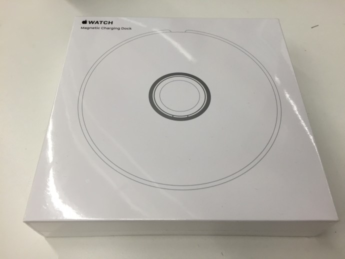 apple watch ladestation packung
