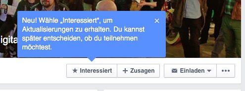 facebook events interessiert
