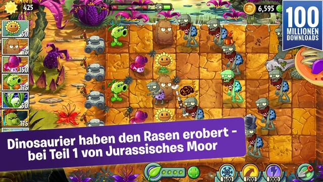 jurassisches moor plants vs zombies 2