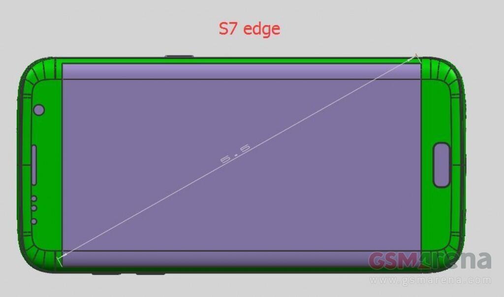 Galaxy S7 Edge Render
