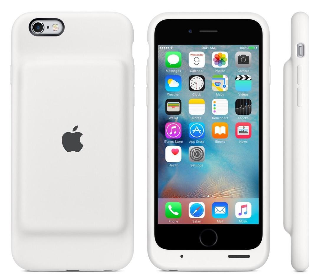 iPhone 6s Smart Case Weiß
