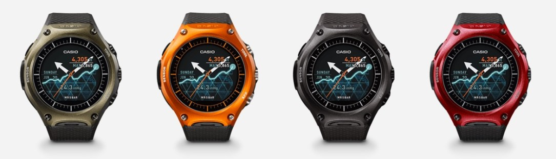 Casio Smartwatch Farben