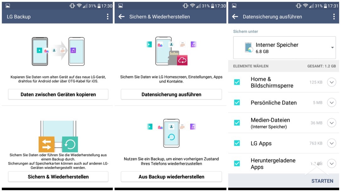 LG Class Screenshots 3