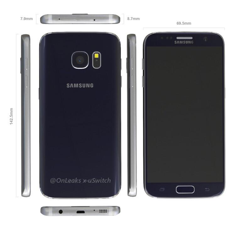 Samsung Galaxy S7 Render4