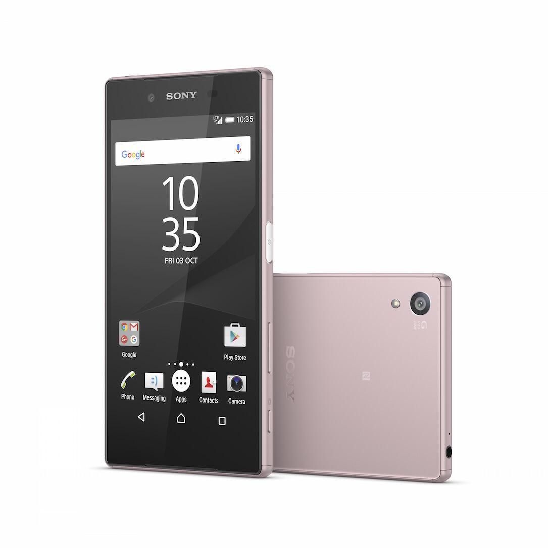 Sony Xperia Z5 Pink Header