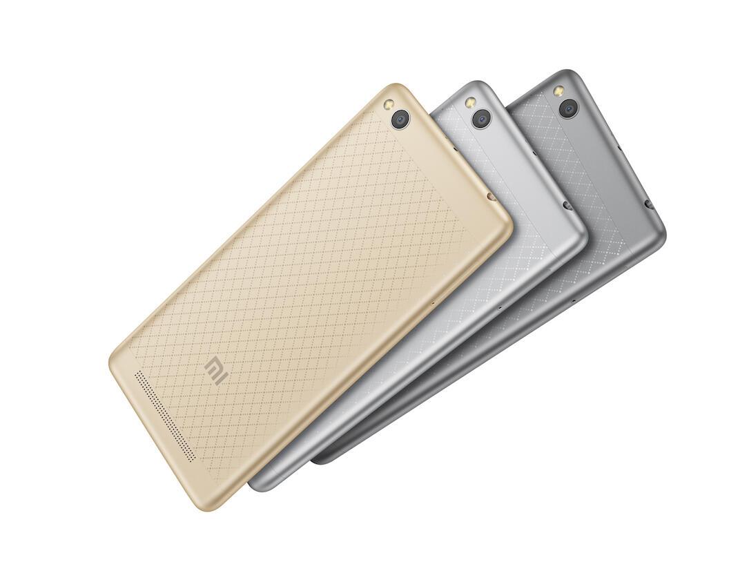 Xiaomi Redmi 3 Rueckseite