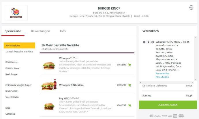 burger king lieferheld