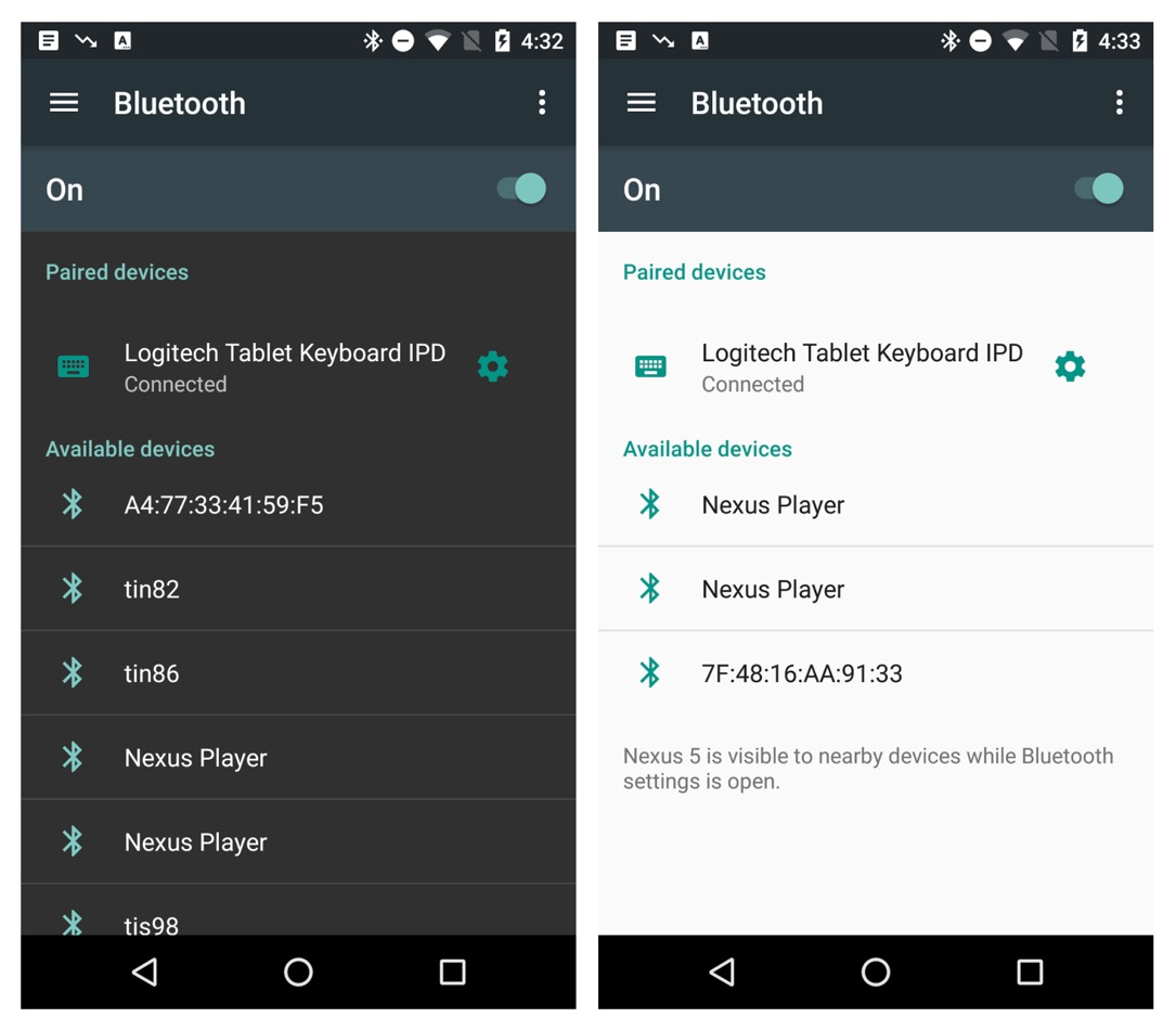 Android N Screenshots