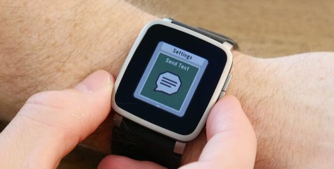 pebble send text