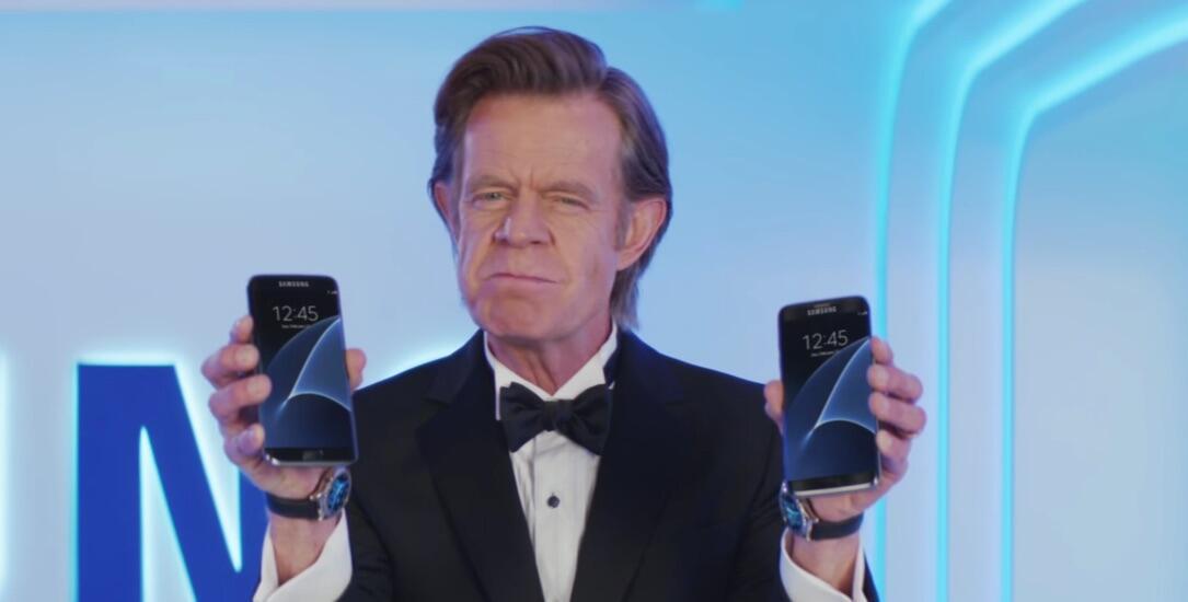 Galaxy S7 Werbung
