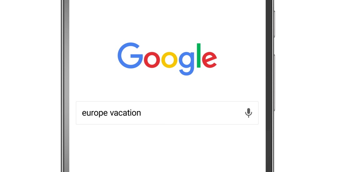 Google Destinations Header