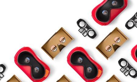 Google VR Virtual Reality Header