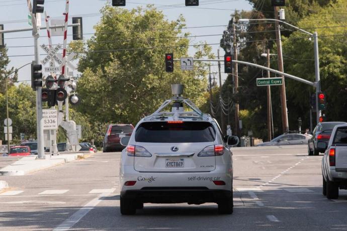 Google self driving car - Lexus 2