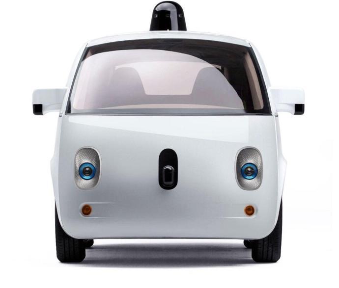 Google self driving car - front