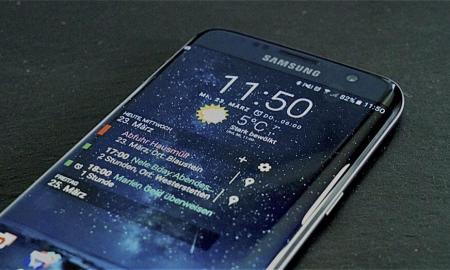Samsung Galaxy S7 edge front HEADER