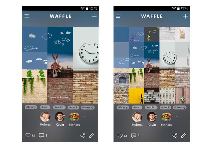 Samsung Waffle Screens