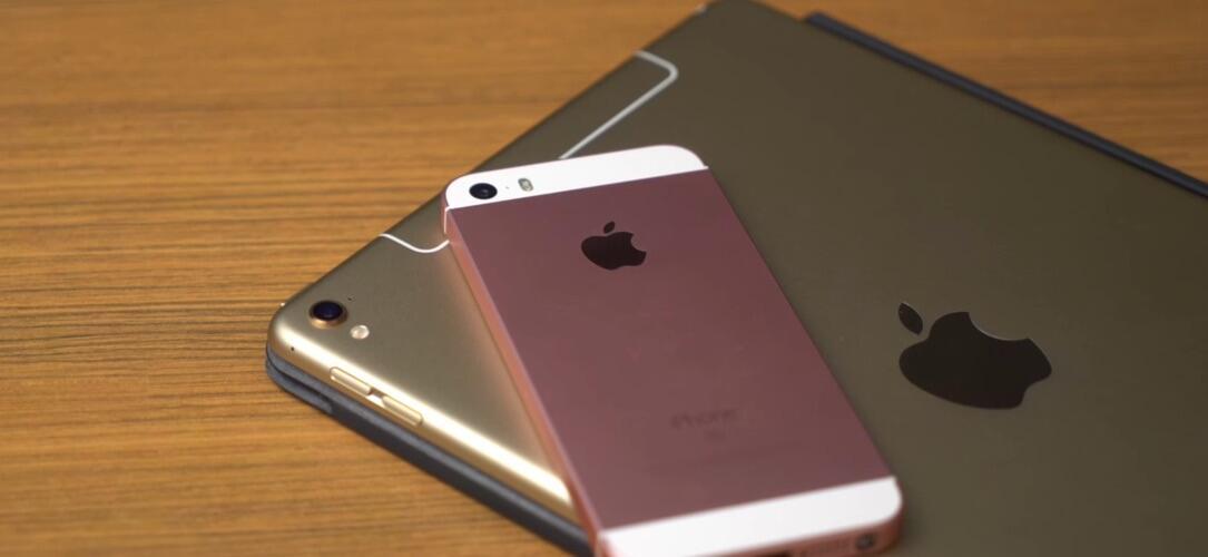 iPhone SE iPad Pro Unboxing