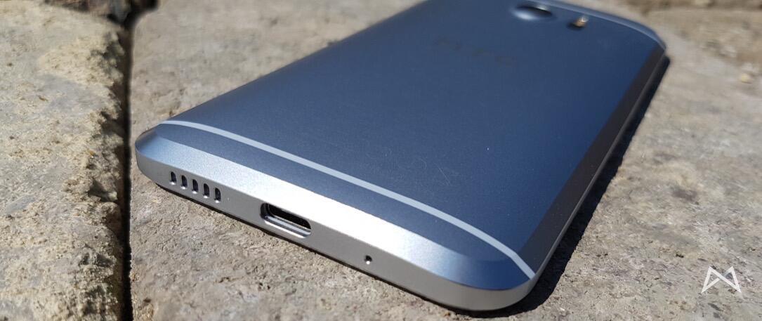HTC 10 Unterseite