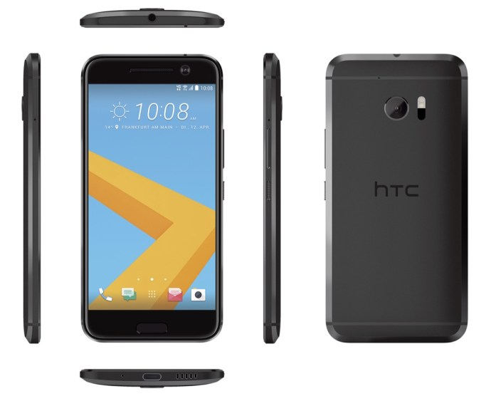 HTC 10 in Carbon Gray