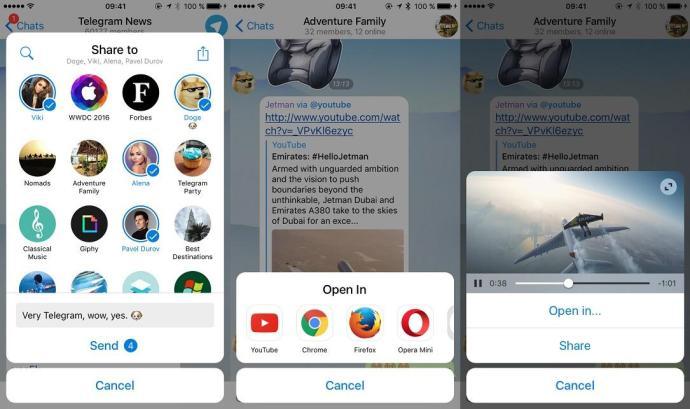 teelgram screenshots neu