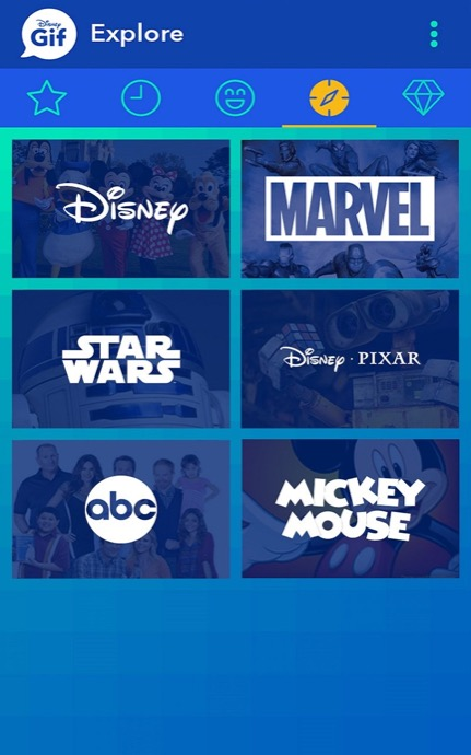 disney gif android