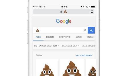 google emoji suche