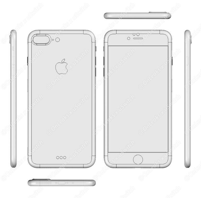 iPhone 7 Plus Render