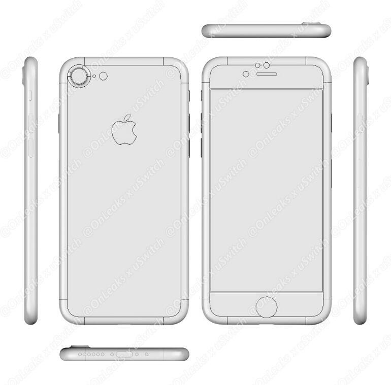 iPhone 7 Render