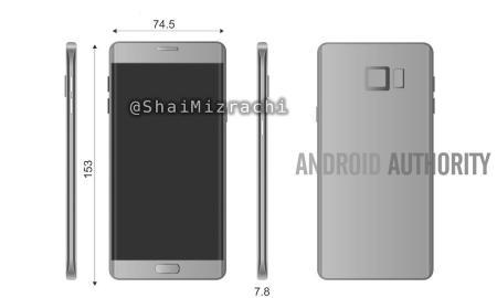 Galaxy Note 7 Render1