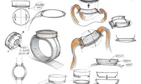 OnePlus Smartwatch Sketch