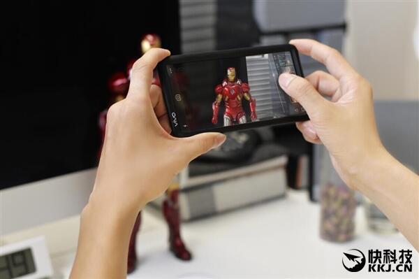 Vivo Transparent Display Kamera Interface
