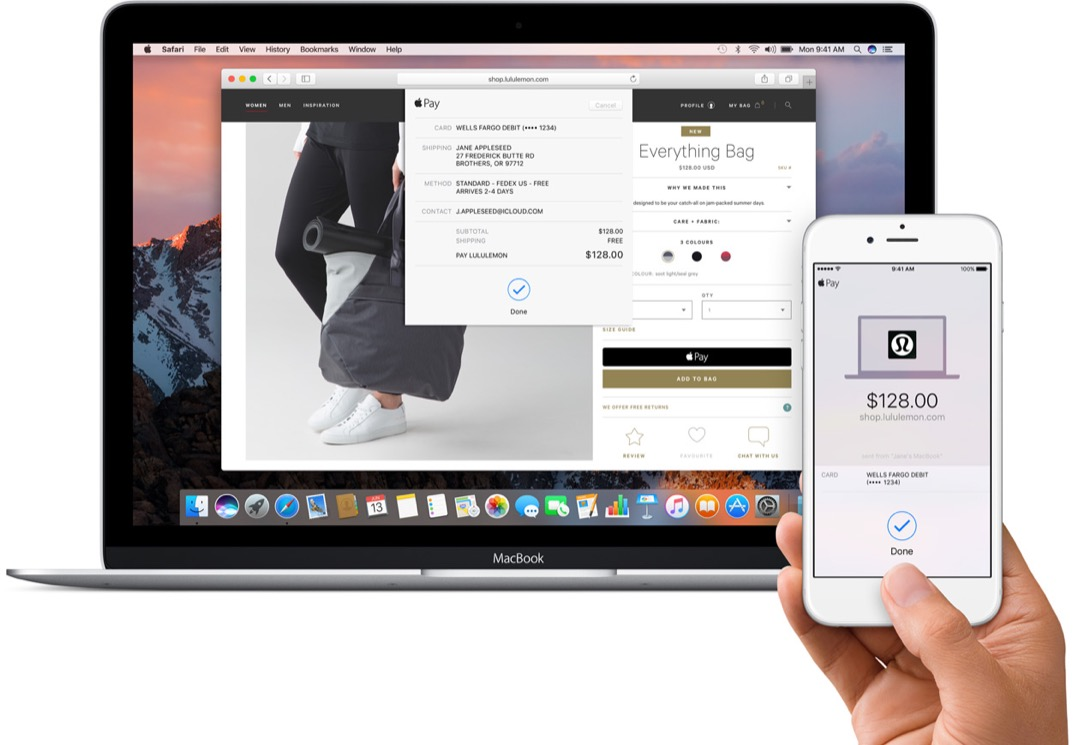 apple pay web