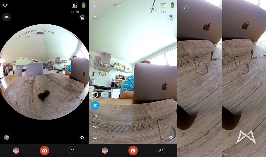 Elecam 360 Ansichten