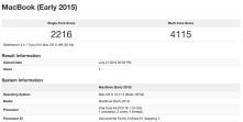 Geekbench Macbook Results