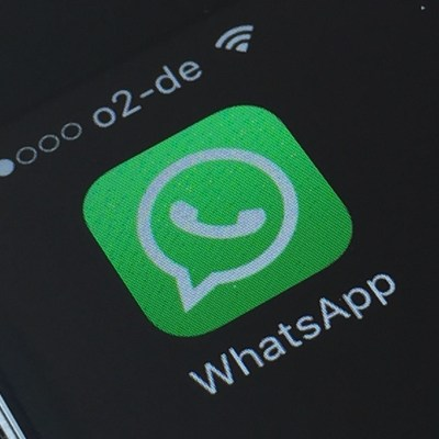 WhatsApp Logo Header