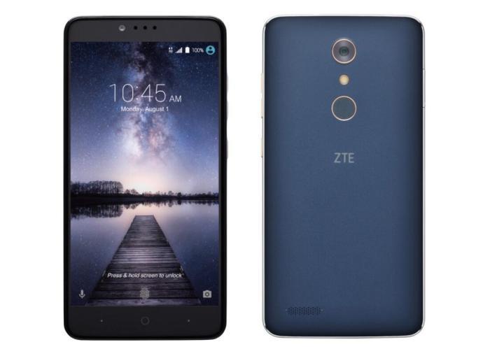 ZTE ZMAX Pro Header