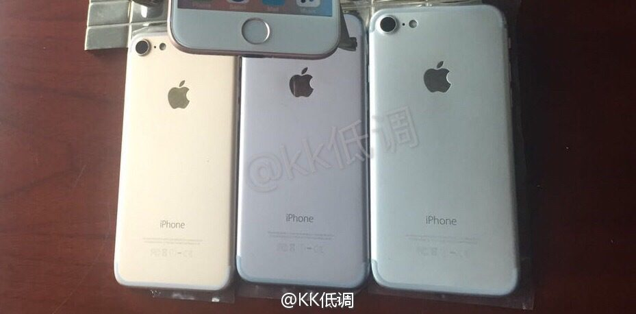 iPhone 7 Farben Back