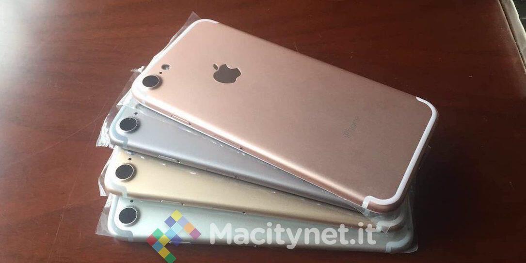 iPhone 7 Farben Leak