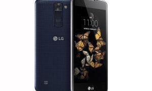 lg k8 blau
