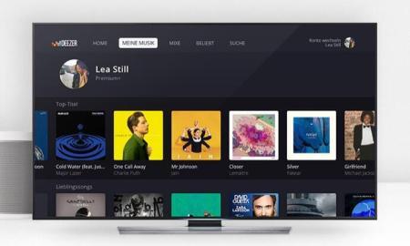 Deezer Neue TV App